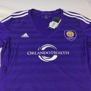 MLS Orlando City SC Women's Size XL Adidas Soccer
